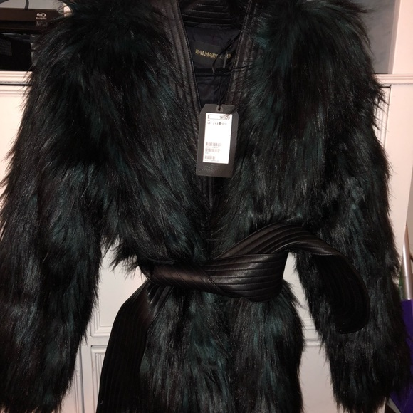Balmain Jackets & Blazers - Balmain X H&M Limited Edition Faux Fur Jacket